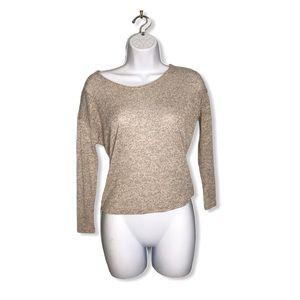 Bar lll | Oatmeal Sweater Lightweight Fall Fashion